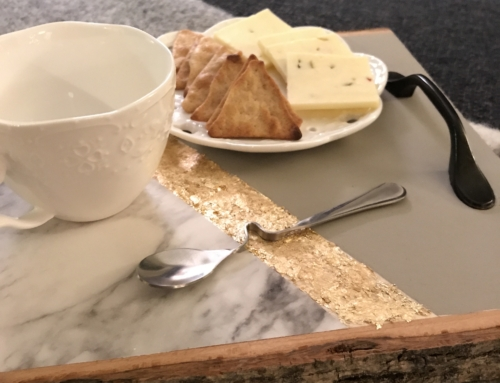 Kreate with Khenri: Wooden Serving Tray