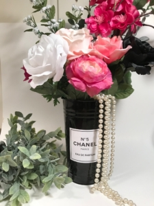 khenri-chanel-DIY-flower-bucket